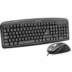 KIT ACTECK AK2-2300 TECLADO Y MOUSE ALAMBRICO PS2