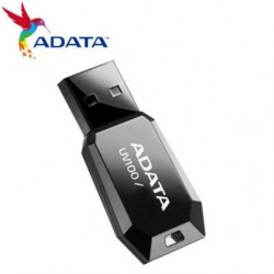 MEMORIA FLASH ADATA UV100 8GB USB NEGRA