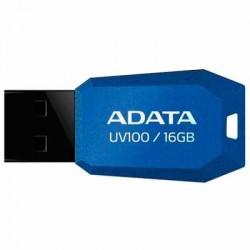MEMORIA FLASH ADATA UV100 16GB USB AZUL